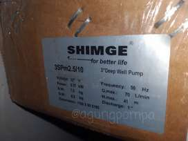 Pompa air Submersible SHIMGE 3 inch 0,5 HP kabel