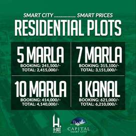 EXCLUSIVE DEALS FOR PLOTS IN CAPITAL SMART CITY | BY H-DOT Pvt Ltd