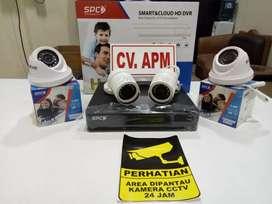 PASANG KAMERA CCTV SPC_4KAMERA_4CH# DI JAKARTA PUSAT#Di Jamin bagus