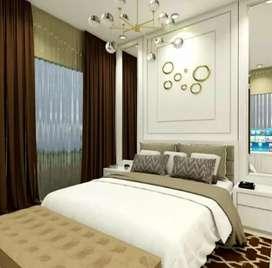 Gordyn gorden gordeng vertikal vitrase blinds wallpaper