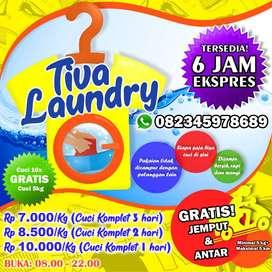 Tiva Laundry Manado (Gratis Jemput & Antar)