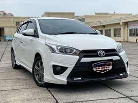 Toyota Yaris S TRD AT 2015! LOW KM • bisa tt jazz brio swift baleno