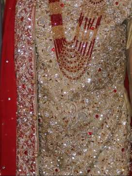 Wedding lahngha with jewelry