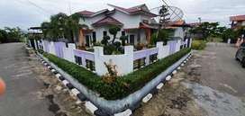 Rumah Asri Minimalis dg Taman Indah