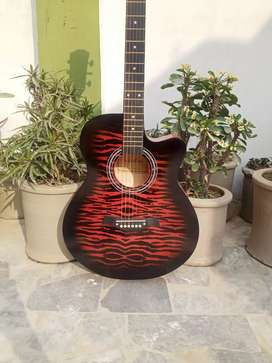 new Acoustic branded Guitar