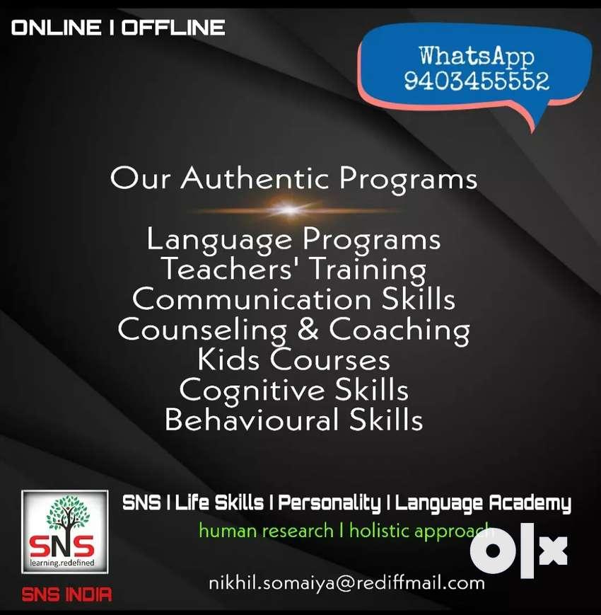SNS INDIA Online Programs 0