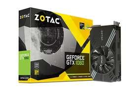Graphic Card Zotac 1060 6gb mini ddr5 under warranty @ 7000