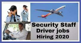 Required in Airport inside  Driver and Security Staff