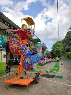 playground taman wahana kincir mini isi 4 odong lampu selang EK