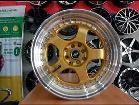 Velg racing mobil vios WORK MEISTER ring 17x8.5/9.5 pcd 4x100/114