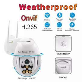 5 MP WIFI HD IP PTZ CAMERA 1 YEAR WARRANTY CASH ON DELIVERY AVAILABLE