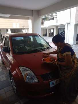 Petrol +CNG, little expense of AC compressor and sound system.