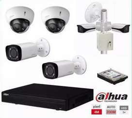 CCTV cameras and live view on mobile device