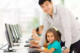 Teacher for computer(fundamentals of computer, c, c++, java, web etc)