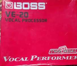 Boss VE20 vocal processor
