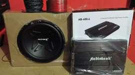 Power ADS 4Chnl, Subwoofeer 12 inchi,Box sub+psng