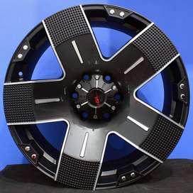 jual velg typeEMR 901 HSR Ring.20 Lebar.9 PCD.6X139,7 ET+15 FADE BLACK