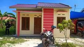 Dijual Murah Rumah BARU Type 36 hrg 130 juta jl Kubang Raya KamparR