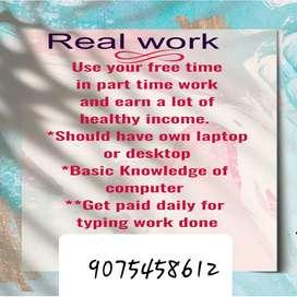 Making money easy through online jobs