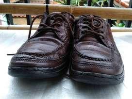 sepatu rockport brown size 44 .5 original silakan di NEGO