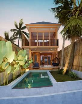 Villa kayu exotic
