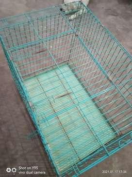 Dog cage size 3 x 2 feet