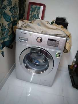 Samsung Washing Machine Fully automatic Front-loading (6.5kg, silver)