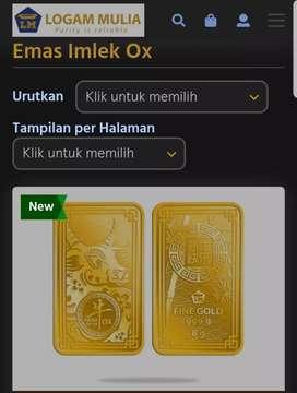 Emas Antam LM edisi Imlek Ox 8gr(th2021)