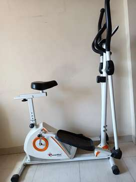CrossFit cum indoor cycle