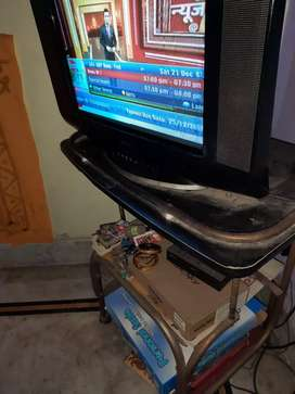 SD TV with stand