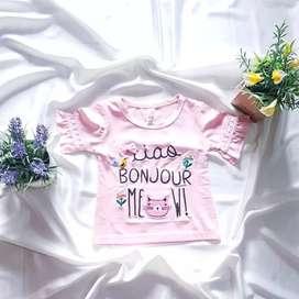 Baju Kaos Lengan Pendek