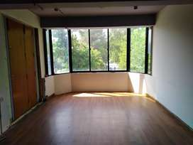 Excellent comercial space with parking on main park road F 8 for rent