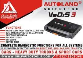 car scanner autoland vedis 3