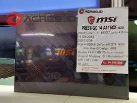 Jual MSI PRESTIGE 14 A11SCX 232ID Terbaru
