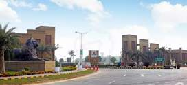 Corner and facing Park new Lahore City 5 Marla plot for sale