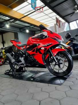 Obral Suzuki GSX 150R th 2018 Merah Metalik Murah Mustika Motor