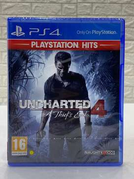 Uncharted 4 - PS4 Game - New Sealed Pack - DTzone