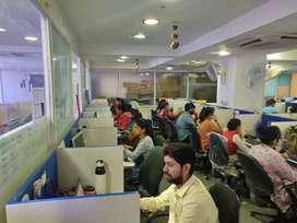 For Rent 100 Seating Call Center. Nehrunagar Satelltie