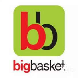 Big Basket Vacancy's for Male / Female 10th/12th Passout