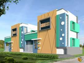 2 bhk and car parking luxury individual Villa for sale