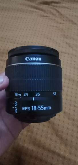 Canon (18-55mm) lens