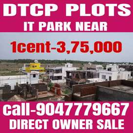 Dtcp Plot For  Sale  in Kovilpalayam to thudiyalur main road