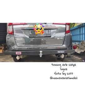 towing arb calya sigra towing bar bumper belakang calya sigra arb