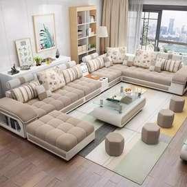 BIG PROMO Sofa minimalis Letter-U modern KUALITAS PREMIUM  tanpa DP