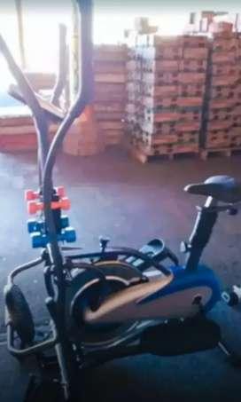 Sepeda statis trackerfam 50 tulangan