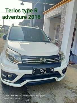 Terios type R adventure 2016 putih