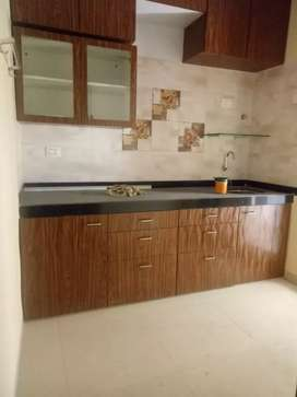 2 BHK flat for rent in ulwe with modular kitchen.