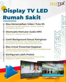 JAM SHOLAT TV LED RUMAH SAKIT TYPE SAMSUNG 32in