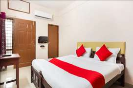 Fully furnished AC rooms for monthly rent