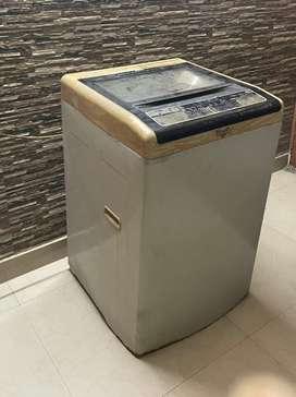 Whirlpool washing machine white magic classic plus fully automatic